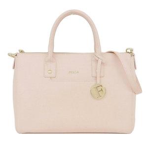 Furla FURLA Linda shoulder bag LINDA M SATCHEL 2way handbag Saffiano leather