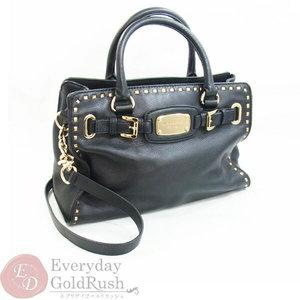 MICHAEL KORS Michael Kors 2way bag leather black ladies