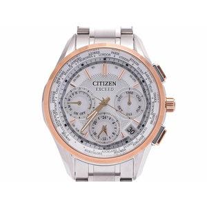 シチズン エクシードエコドライブ メンズ スーパーチタニウム 腕時計 未使用 CITIZEN 箱 ギャラ 中古 銀蔵