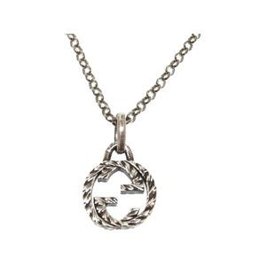 Gucci GG Logo Silver Necklace Accessory 0050 GUCCI Men's Women's
