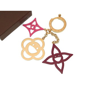 Louis Vuitton Bijou Sac Cosmic Blossom Takashi Murakami M66155 Gold Keychain Charm LV 0223 LOUIS VUITTON