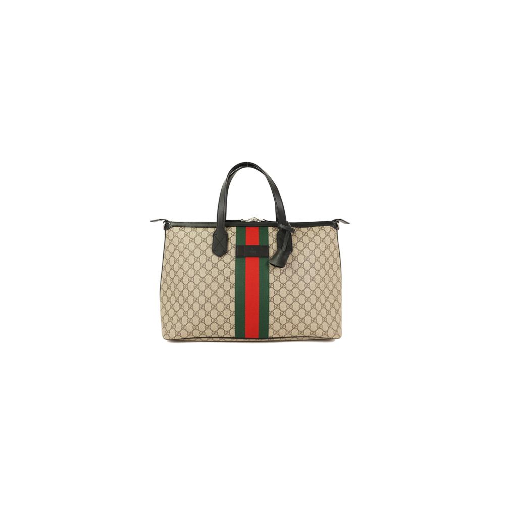 2ef4b71af981ae Auth Gucci GG supreme Duffle Bag 359261 Men's 2way Shoulder Bag Tote Bag