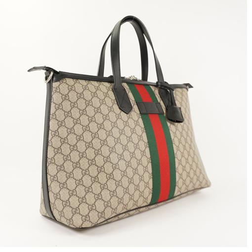 6ae7c6d17c4c6a Auth Gucci GG supreme Duffle Bag 359261 Men's 2way Shoulder Bag Tote ...