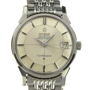 Real OMEGA Omega Constellation 12-sided Chronometer Men's Automatic Wrist Watch Cal.564