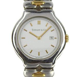 Genuine TIFFANY & Co. Tiffany Tissotro Boys Combi Quartz Wrist Watch M0112