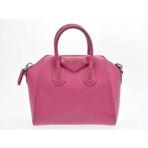 Givenchy Antigoni Mini Pink Ladies Calf 2 Way Bag AB Rank GIVENCHY Used Strapped Ginza