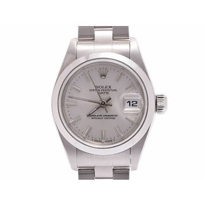 Rolex Perpetual silver dial 69160 U Woman SS automatic winding wristwatch A rank 美 品 ROLEX second hand storage