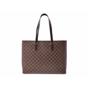 c9bc4c4b19b41 Louis Vuitton Damier Ruko SP Order Brown N 51156 Ladies Leather Handbag AB  Rank LOUIS VUITTON