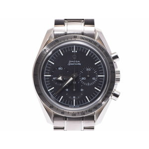 Omega Speedmaster First Replica 3594.50 Black Characters Board Men's SS Hand-wound Wrist Watch A Rank M Made of OMEGA Used Ginza