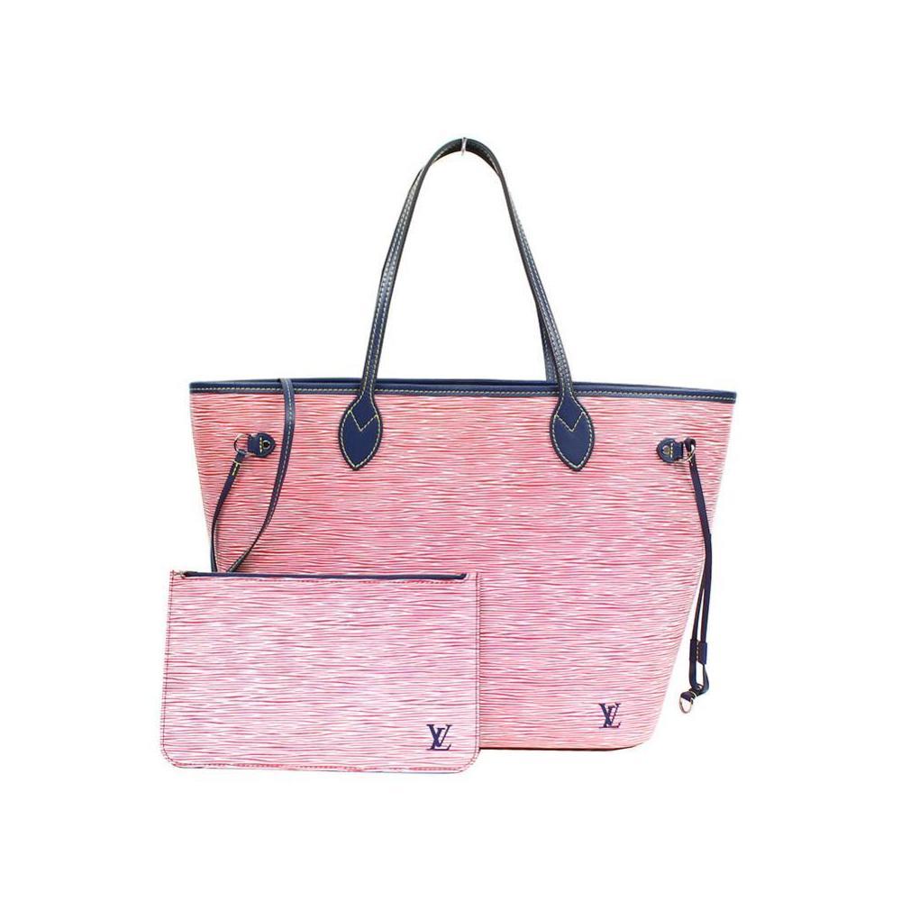 ce146230 Louis Vuitton Epi · Denim Never Full MM M 544546 Rouge Tote Bag ...