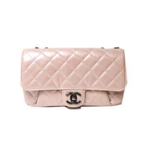 Chanel CHANEL Matrasse Chain Shoulder Bag Calfskin Pink