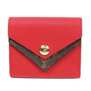 0a4e54d91855 Louis Vuitton Monogram Porto Foyu Dubles V Compact M64419 Ruby Wallet Ladies
