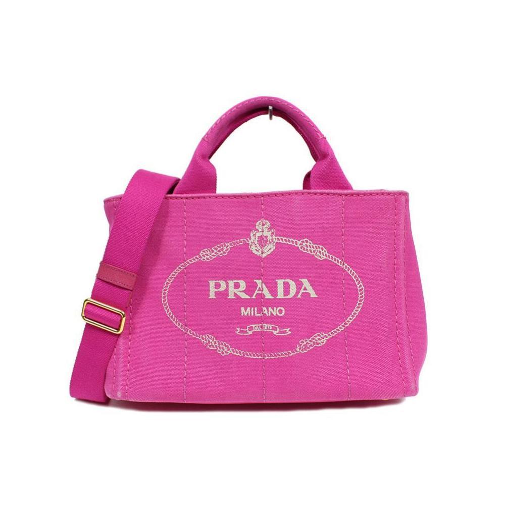 Prada PRADA Kanapa 2 Way tote bag B 2439 G Fuchsia Women's