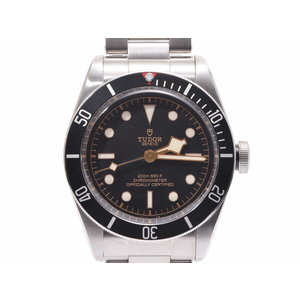 Tudor Heritage Black Bay black letter board bezel 79230 N Men's SS automatic winding wristwatch A rank beautiful goods TUDOR box Galler second hand silver storage