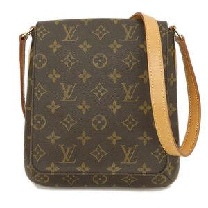 27805682f8 Genuine Louis Vuitton Monogram Musette Salsa Long Shoulder Bag M51387  Leather