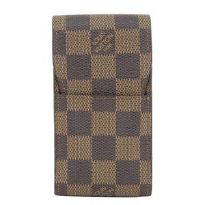Real LOUIS VUITTON Louis Vuitton Damier Etui cigarette N 63024
