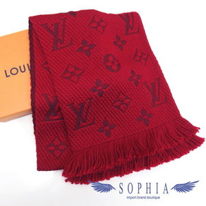 Louis Vuitton EQuatep · Logo Mania Muffler Ruby 20180926