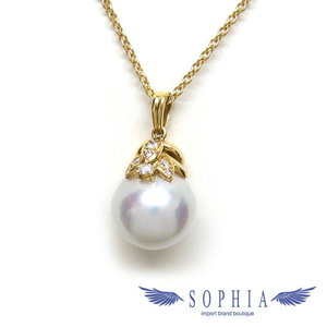 Baroque Pearl Yellow Gold Necklace 20181017