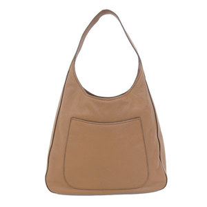 PRADA Prada One Shoulder Bag Leather Brown Silver Hardware 1BC013