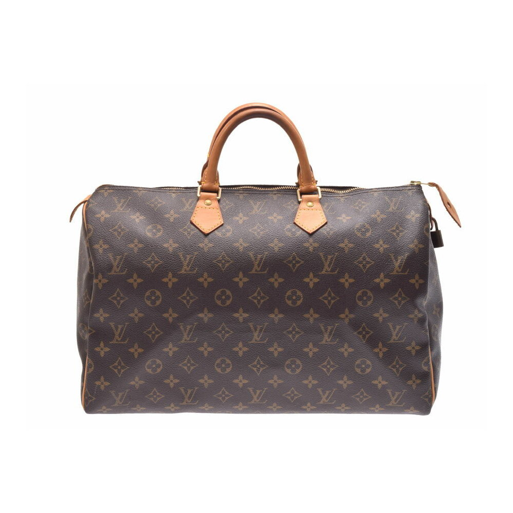 06ff520c009 Louis Vuitton Monogram Speedy 40 Brown M41522 Men's Women's Handbag ...