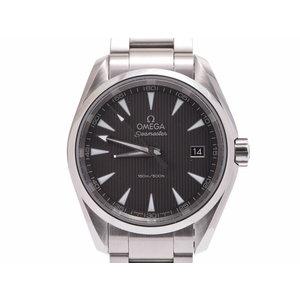 Omega Seamaster Aqua Terra Gray Dial 231.10 Men's SS Quartz Wrist Watch A Rank Beauty OMEGA Box Gala Used Ginza