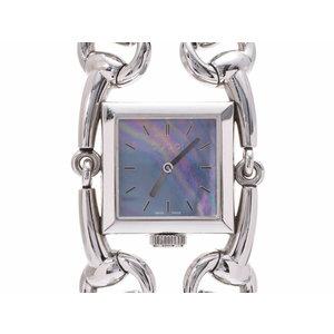グッチ シニョーリア シェル文字盤 116.3 レディース クオーツ 腕時計 ABランク GUCCI 中古 銀蔵