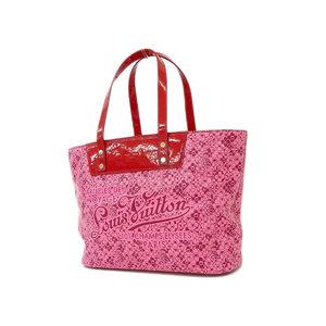 b6d1e8455eb38 LOUISVUITTON Louis Vuitton Cosmic Blossom PM Tote Bag Murakami Takashi Hand  Shoulder Rose M 93160 Used