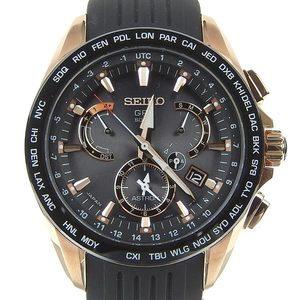 Genuine SEIKO Seiko Astron Mens Solar Watch 8X53 - 0AC 0 / SBXB 055