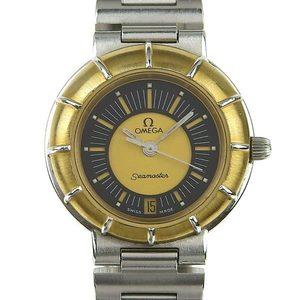 Genuine OMEGA Omega Dynamic Seamaster Ladies Quartz Wrist Watch