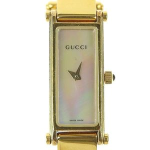 5120d164f0b Genuine GUCCI Gucci Ladies Quartz Wrist Watch White Shell Dial 1500L