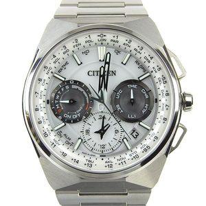 Real CITIZEN Citizen Eco Drive Satellite Wave Men's Solar Watch White Dial F900-T021450