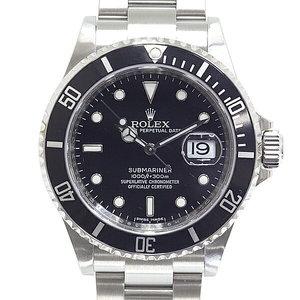 [ROLEX] ROLEX men's wrist watch Sub Mariner Date 16610 (made after 2010) random serial black dial OH