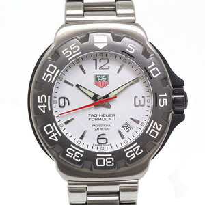 [TAG Heuer] TAG HEUER Men's Watch Formula 1 WAC 1111 White Dial Quartz