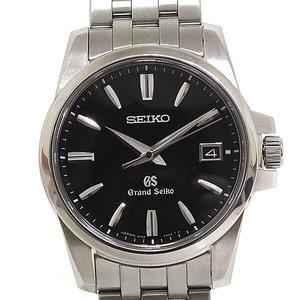 SEIKO Seiko Grand Mens Quartz Wrist Watch SBGX 049 Black Dial
