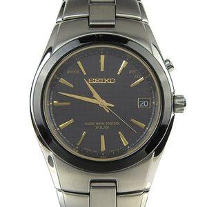 Real SEIKO Seiko Men's Solar Watch 7B24-0AD0