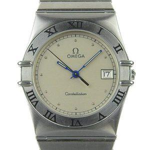 Genuine OMEGA Omega Constellation Mens Quartz Wrist Watch