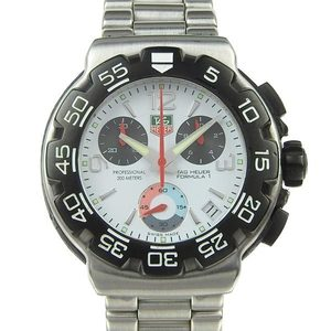 Real TAG Heuer Formula 1 Chronograph Mens Quartz Wrist Watch CAC 1111-0