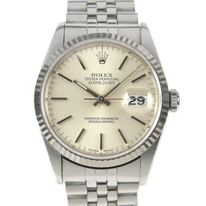 Real ROLEX Rolex Datejust Mens Automatic Watch 16234 S