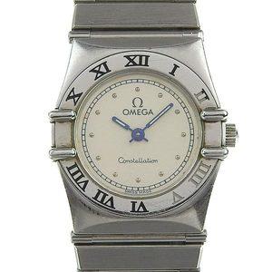 Genuine OMEGA Omega Constellation Ladies Quartz Wrist Watch