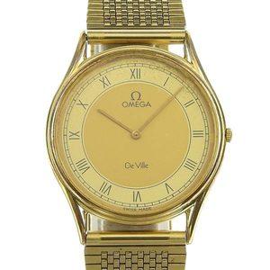 Genuine OMEGA Omega Devil Mens Quartz Wrist Watch