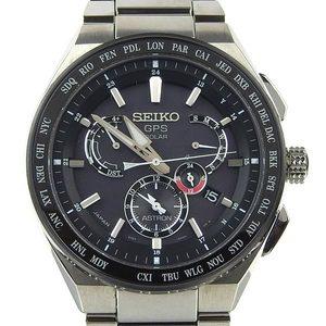 Genuine SEIKO Seiko Astron Men's Solar Watch 8X53-0AV0