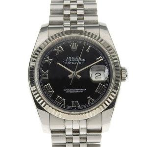 Real ROLEX Rolex Datejust Men's Automatic Watch 116234 Z No.