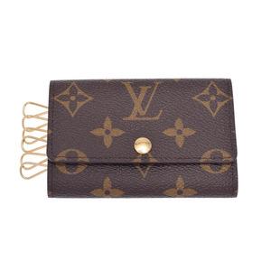 ルイ・ヴィトン(Louis Vuitton) ルイヴィトン モノグラム 6連キーケース ブラウン M62630 メンズ レディース 本革 未使用 美品 LOUIS VUITTON 中古 銀蔵