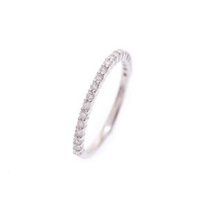 ハーフエタニティリング レディース PT900/18KT ダイヤ0.30ct 2.0g #12 指輪 Aランク 美品 中古 銀蔵