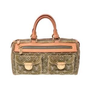 86514a34a597 Louis Vuitton Denim Neo Speedy Riken M95215 Ladies  handbag B rank LOUIS  VUITTON second hand