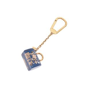 Louis Vuitton Portuguese Speedy Ankelion Blue M65494 Ladies' Key Holder B Rank LOUIS VUITTON Used Ginza