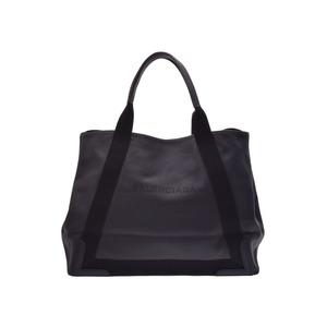 Balenciaga Navy Cover M Black Men s Women s Nappa Tote Bag A rank 美 品  BALENCIAGA second 77717631ca05b