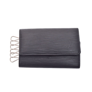 ルイ・ヴィトン(Louis Vuitton) ルイヴィトン エピ 6連キーケース 黒 M63812 メンズ レディース 本革 Bランク LOUIS VUITTON 中古 銀蔵