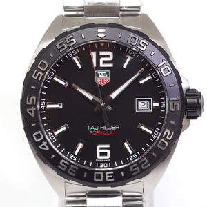 [TAG Heuer] TAG HEUER Men's Watch Formula 1 WAZ 1110.BA 0875 Black Dial Unused Item
