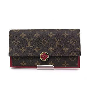 f92308b7a0312d LOUIS VUITTON Louis Vuitton Monogram Porto Foyu / Flor fold wallet M64585  Fuchsa unused item